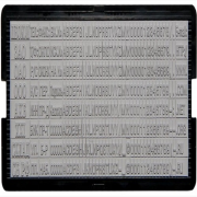 6006 Касса дополн.для штамп.и датер(цифр,лат.буквы,блоки сокр)