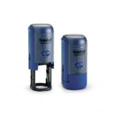 46019 Оснастка для печатей d19мм.синяя, Trodat