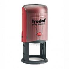 46045 P3 Оснастка для печати d45мм.красная, Trodat