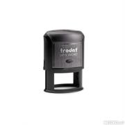 44055 Оснастка для ов.печати 55х35мм,черная, Trodat