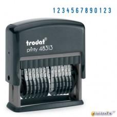 48313 Нумератор 13 разрядный  3.8мм, Trodat