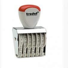 1546 Ленточный 6 разрядный нумератор 4 мм., Trodat