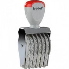 15126 Ленточный 6 разрядный  нумератор 12 мм., Trodat