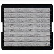 6003 Касса букв 3мм для штамп.и датер(кол.символов-328), Trodat