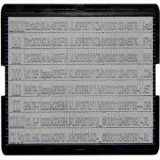 6006 Касса дополн.для штамп.и датер(цифр,лат.буквы,блоки сокр), Trodat
