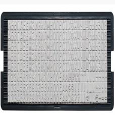 6004 Касса букв 4мм лат.для штамп.и датер., Trodat