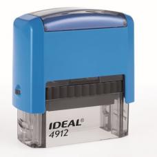 4912 P2 Оснастка для штампа 47*18мм.синяя IDEAL, Trodat