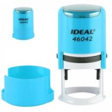 46042 Оснастка для печатей d42мм.бирюзовая IDEAL, Trodat