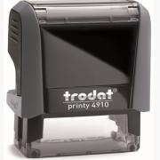 4910 Оснастка для штампа 26*9 мм, черная , Trodat