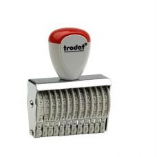 15312 Ленточный 12 разрядный  нумератор 3 мм., Trodat
