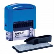 4911/DB P2  Штамп самонаборный 3 строчный IDEAL 38х14мм синий ,1 касса, Trodat